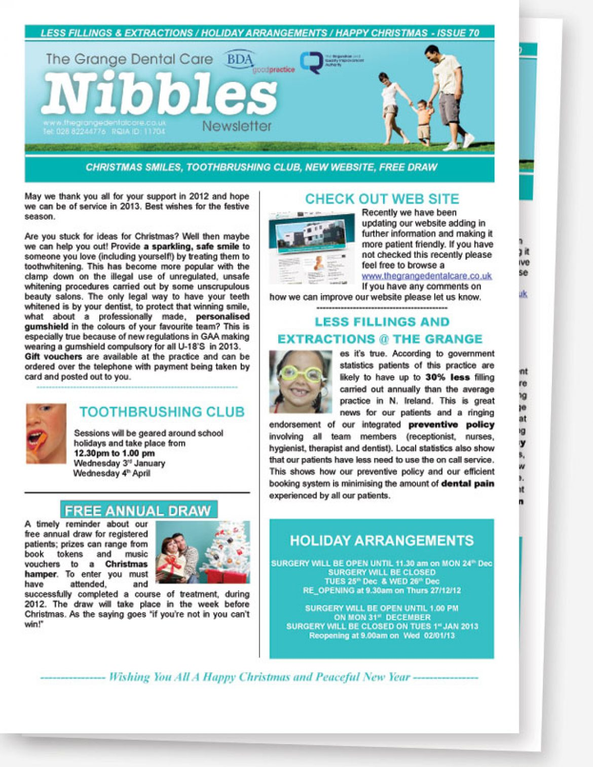 Nibbles Newsletter No.70